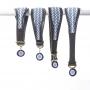 Kilifi Blue Lurcher Collar Group Selection - www.malulu.co.uk