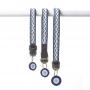 Kilifi Blue Skinny Collar Group Selection - www.malulu.co.uk