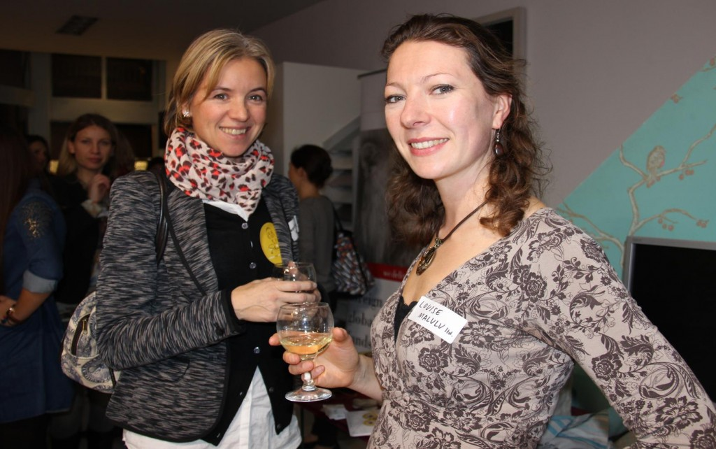 Malulu's Director, Louise Edwards, at the SA Ladies Networking event by Darling Magazine, in December 2013.