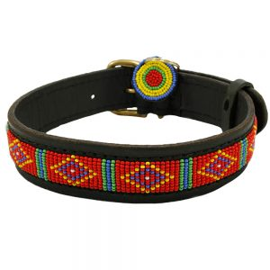 Mombasa Red Dog Collars