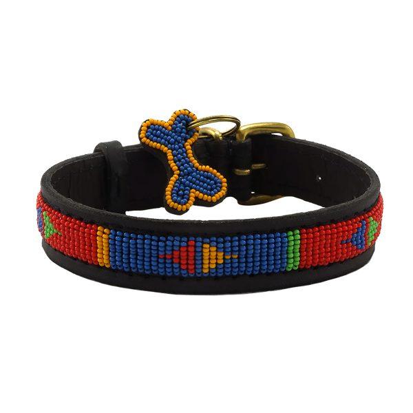Pokot Red Dog Collars