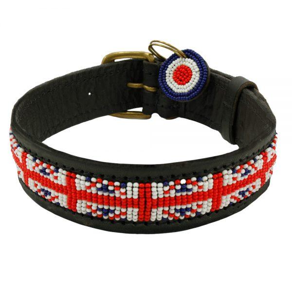 Union Jack Dog Collar