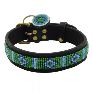 Mombasa Green Dog Collars