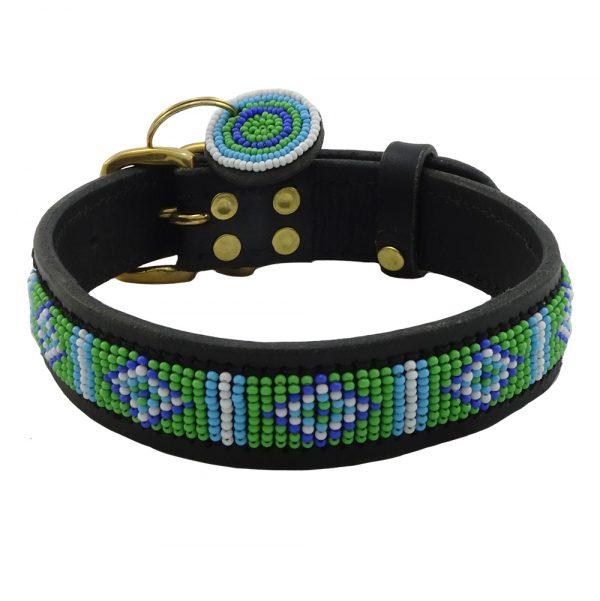 Mombasa Green Dog Collars